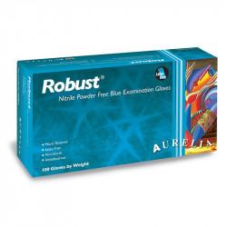 Γάντια νιτριλίου χωρίς πούδρα Robust