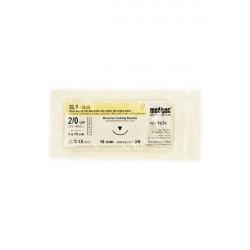 Ράμμα από μετάξι 2/0 16mm 3/8