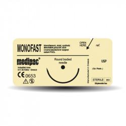 Ράμματα monofast 6/0 12mm 3/8