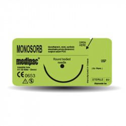 Ράμματα monosorb 5/0 16mm 3/8