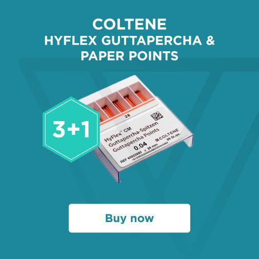 COLTENE - HyFlex Guttapercha and paper points 3+1