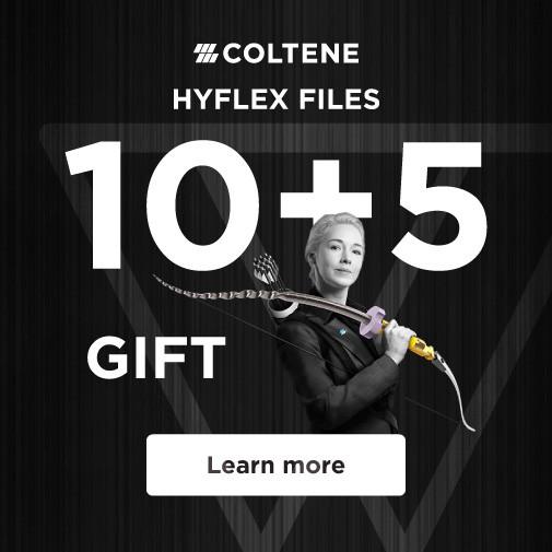 COLTENE HyFlex CM & EDM 10+5 gift